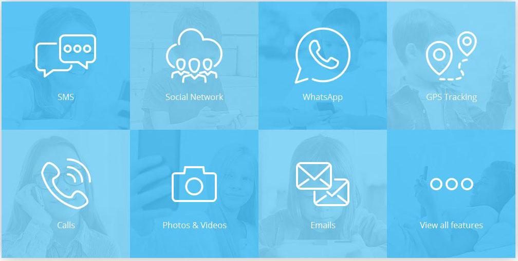Features of spy app