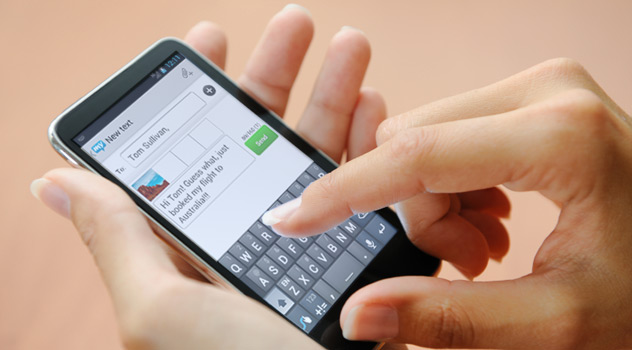 How to track SMS messages on another phone