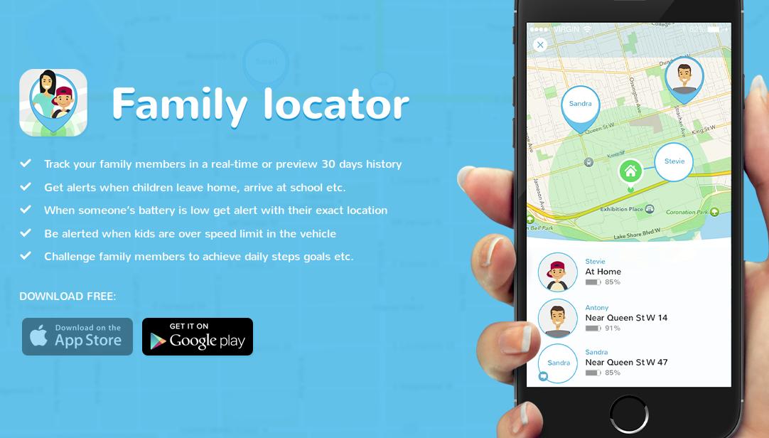 #3 Family tracker