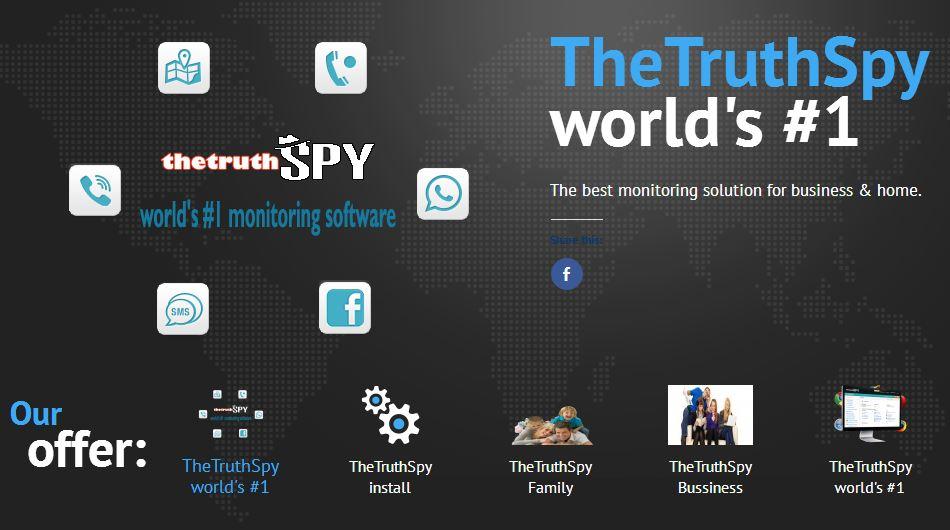 #2 Best Mobile Spy - TheTruthSpy