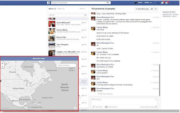 #1 Track a Facebook Friend using Marauders Map