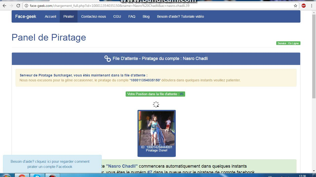 Way 5: FaceGeek To Hack Facebook