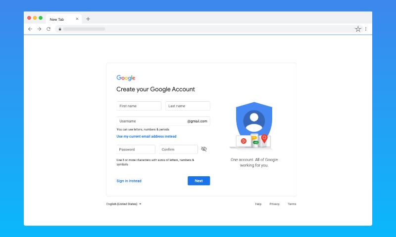 Hacking Google Account